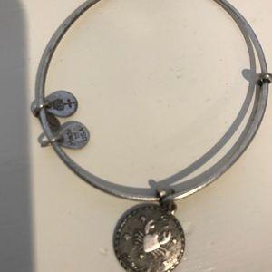 Alex and Ani Silver Zodiac Sign Cancer Bracelet